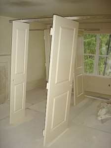 målning av dörrar